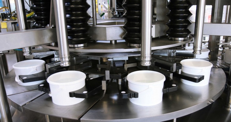 pail filling machine