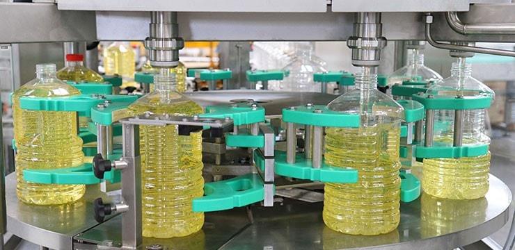 vegetable oil bottle filling machine